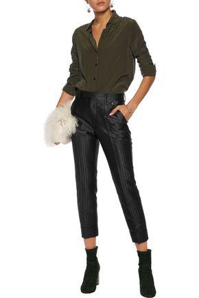 MAISON MARGIELA Jacquard slim-leg pants