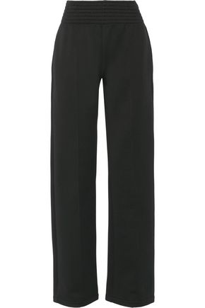 GIVENCHY Cotton-blend wide-leg pants