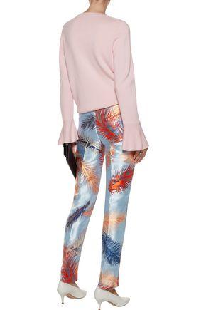 EMILIO PUCCI Metallic jacquard tapered pants