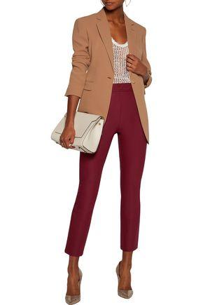 THEORY Bimsa cotton-blend twill bootcut pants