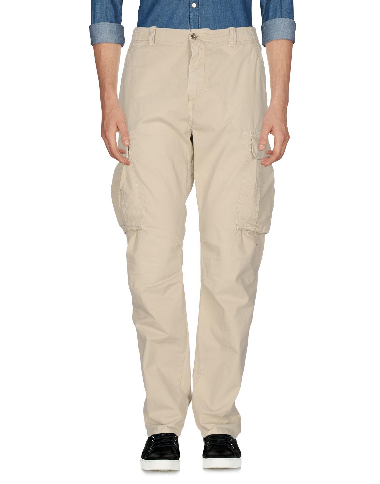《送料無料》40WEFT メンズ パンツ サンド 56 コットン 100%
