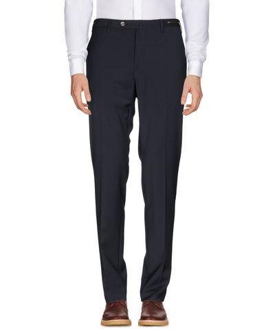Фото - Повседневные брюки от PT01 темно-синего цвета