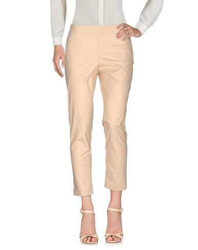 Фото - Повседневные брюки от BLUE LES COPAINS бежевого цвета
