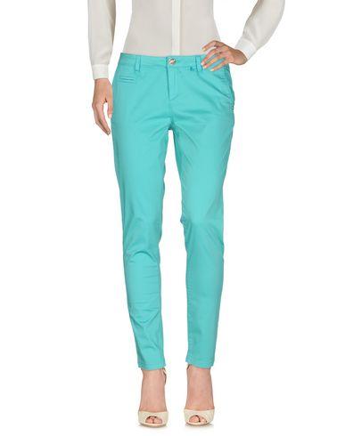 Фото - Повседневные брюки от MISS NENETTE бирюзового цвета
