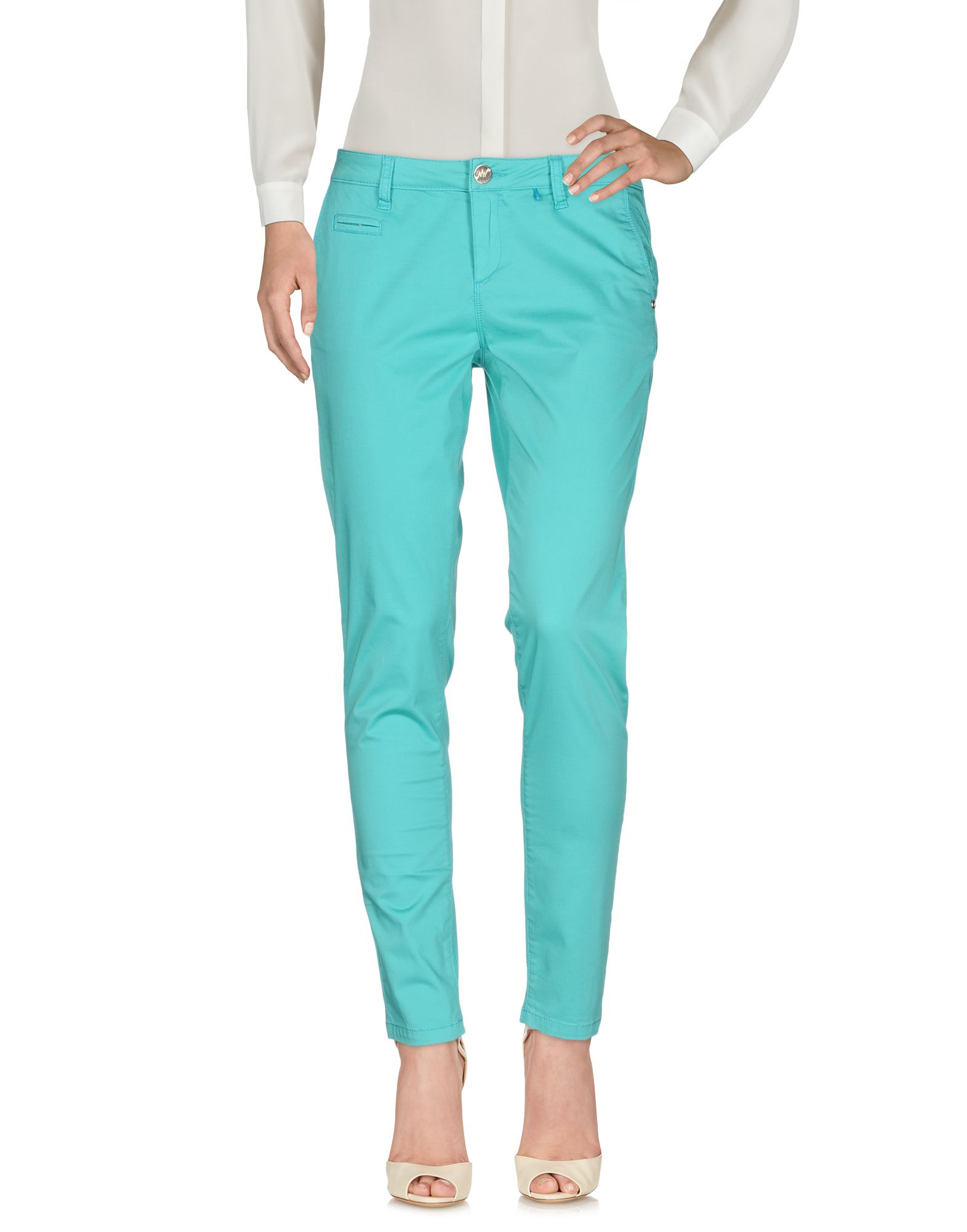 цена MISS NENETTE Повседневные брюки онлайн в 2017 году