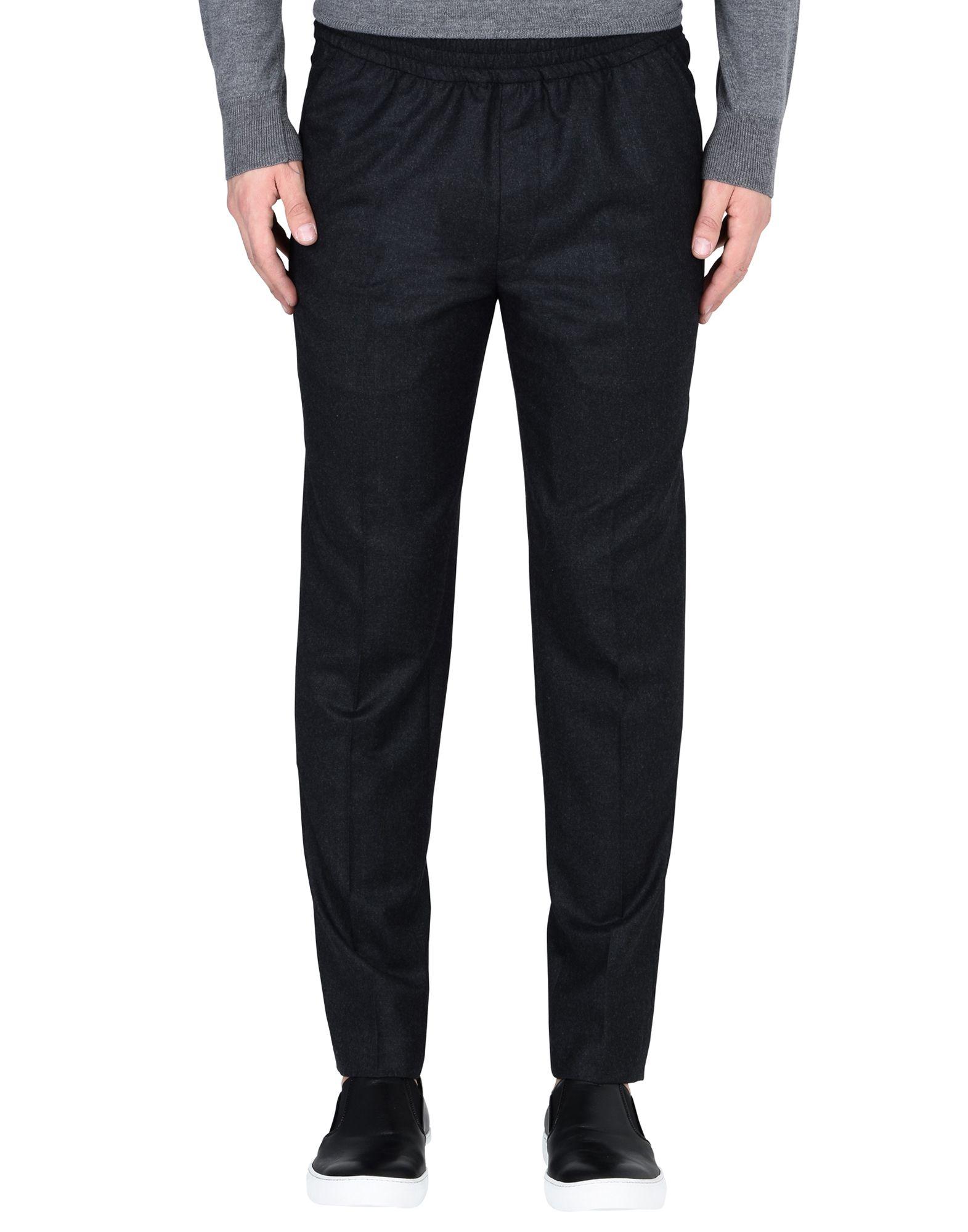 《セール開催中》HARMONY Paris メンズ パンツ スチールグレー 46 ウール 100%