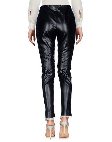 Фото 2 - Повседневные брюки от MSGM черного цвета