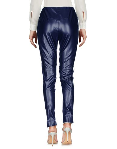 Фото 2 - Повседневные брюки от MSGM темно-синего цвета