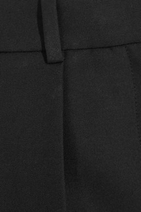 JOSEPH Saville cropped wool-crepe wide-leg pants