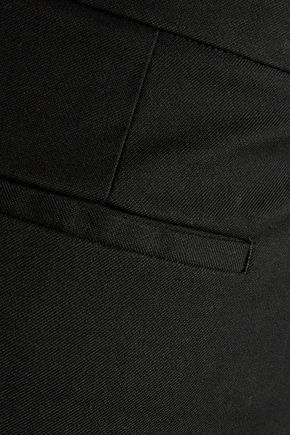 ROBERTO CAVALLI Cropped cotton-blend skinny pants