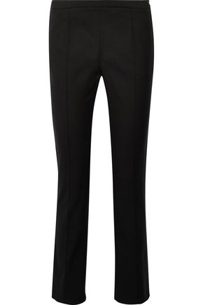 ROBERTO CAVALLI Cropped cotton-blend skinny pants