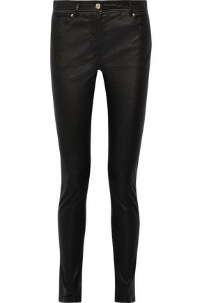 ROBERTO CAVALLI Leather skinnny pants