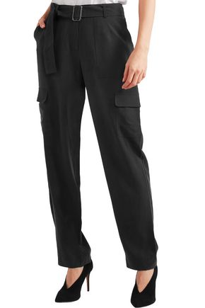 EQUIPMENT Manon washed-silk pants