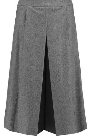 DIANE VON FURSTENBERG Mallie wool-blend felt culottes