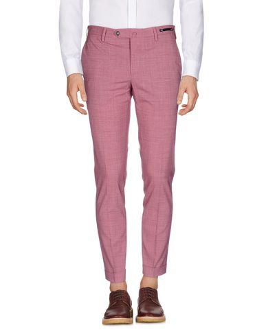 Купить Повседневные брюки от PT01 кирпично-красного цвета