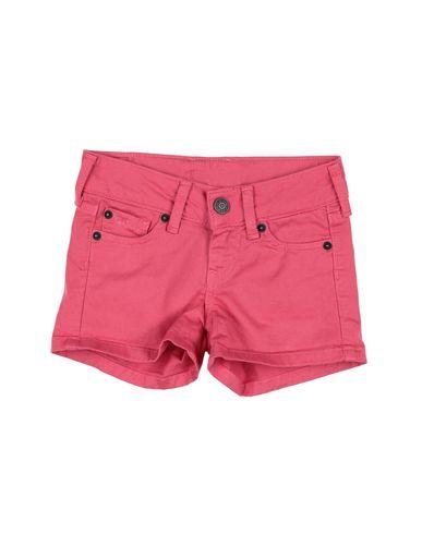 Фото - Джинсовые шорты цвета фуксия