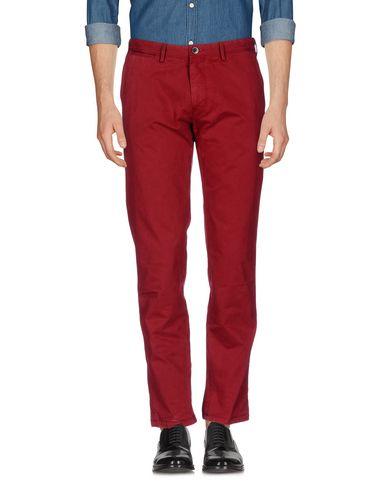 Купить Повседневные брюки от BOSS BLACK кирпично-красного цвета
