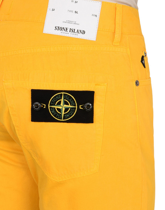 13120653ia - PANTS - 5 POCKETS STONE ISLAND