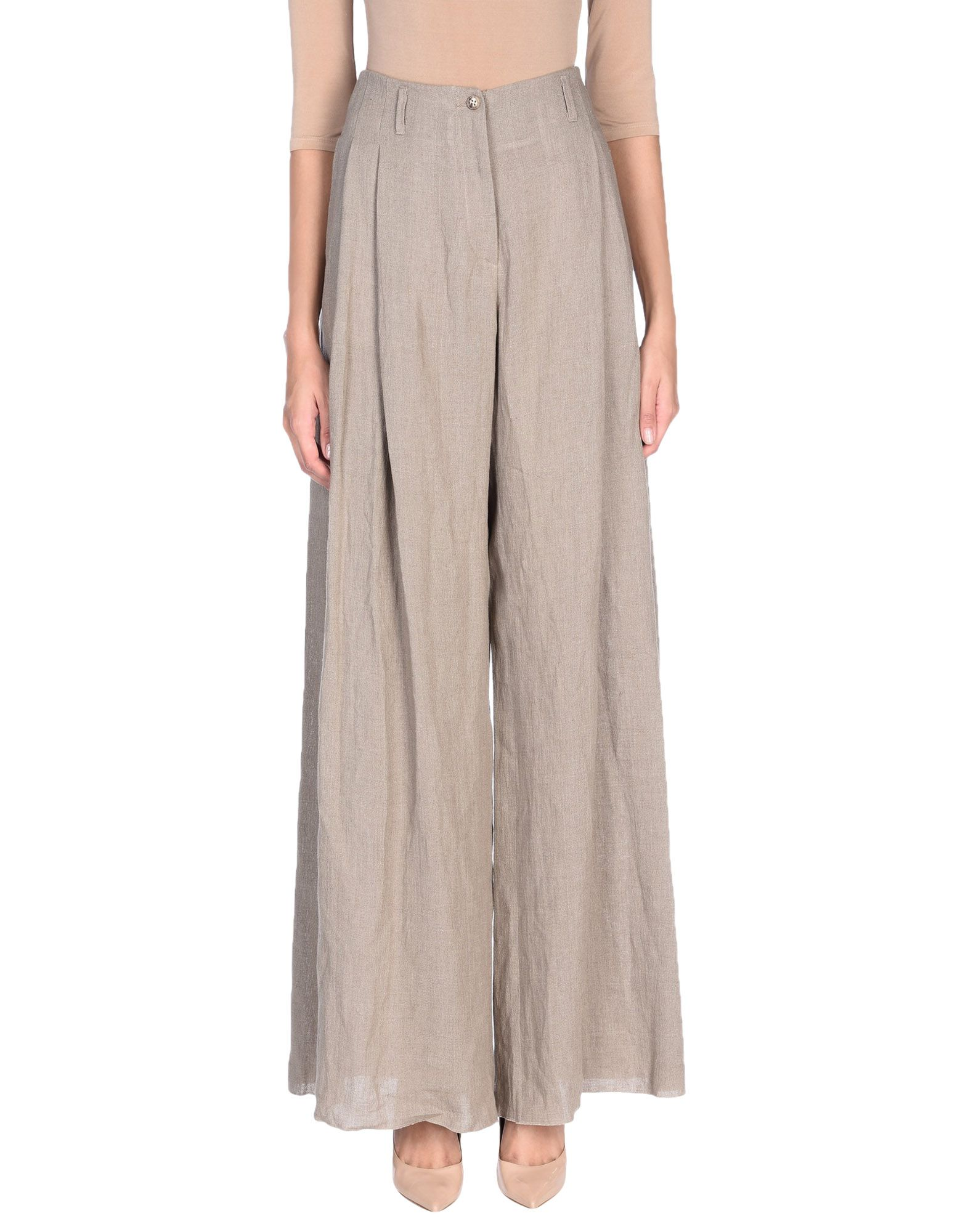 JUPE DE SATIN Повседневные брюки jupe de satin пальто