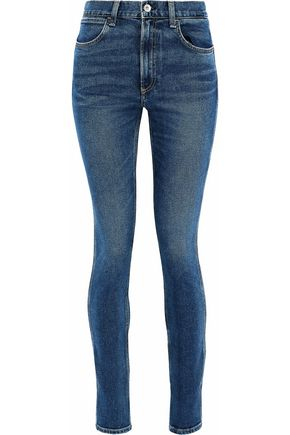 RAG & BONE/JEAN Faded high-rise skinny jeans