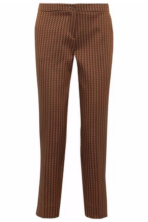 ETRO Jacquard tapered pants