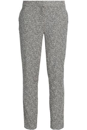 DIANE VON FURSTENBERG Cotton-blend tapered pants