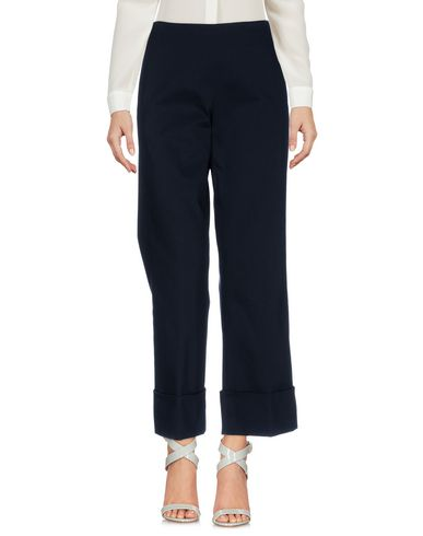 Фото - Повседневные брюки от FAY темно-синего цвета