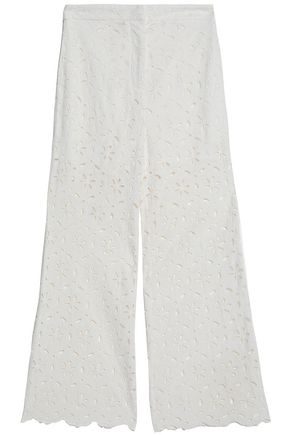 ZIMMERMANN Cotton broderie anglaise culottes
