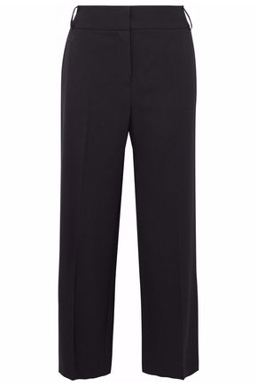 VILSHENKO Cropped wool wide-leg pants