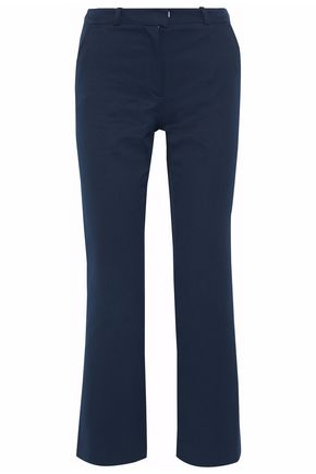 VANESSA SEWARD Cropped cotton-canvas straight-leg pants
