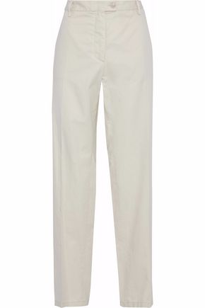 MAISON MARGIELA Cotton-twill straight-leg pants