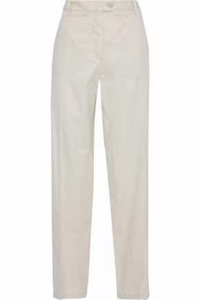 MAISON MARGIELA Cotton-twill straight-leg pants