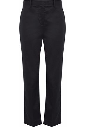 3.1 PHILLIP LIM Cotton-blend twill straight-leg pants