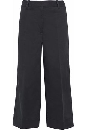 3.1 PHILLIP LIM Cotton-blend twill culottes