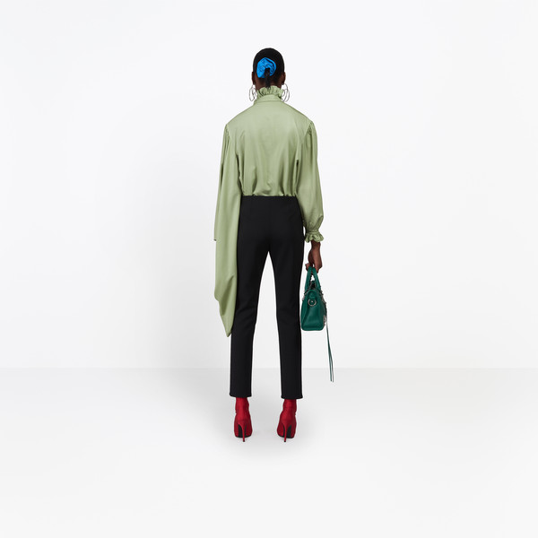 BALENCIAGA Pants Woman Fitted Leg Pants h