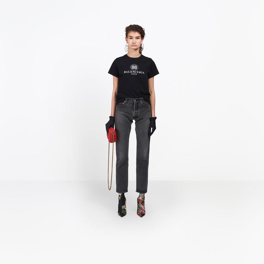BALENCIAGA Standard Jeans Denim Woman g