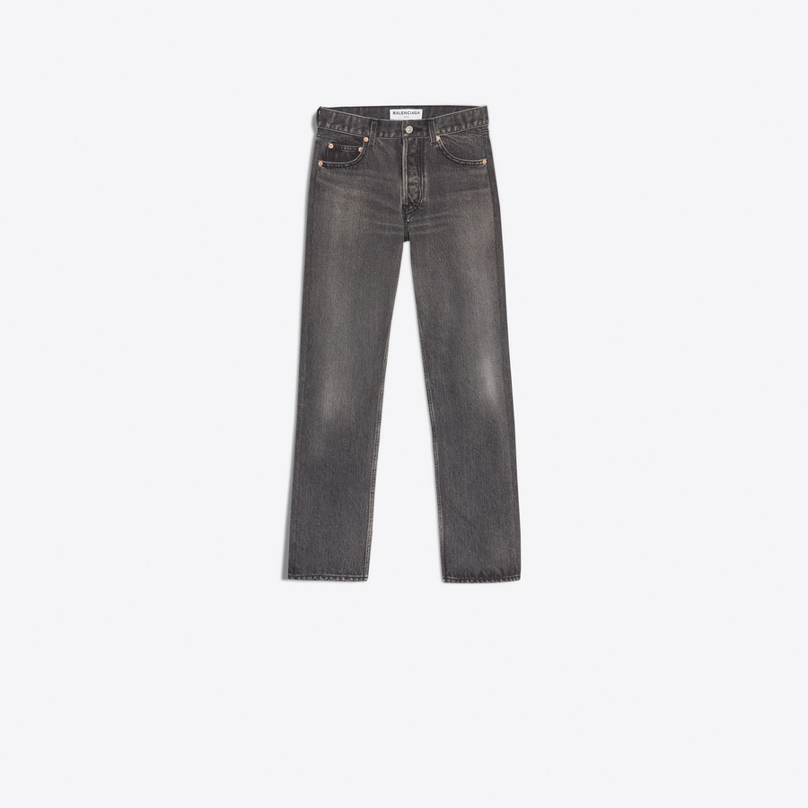 BALENCIAGA Standard Jeans Denim Woman f