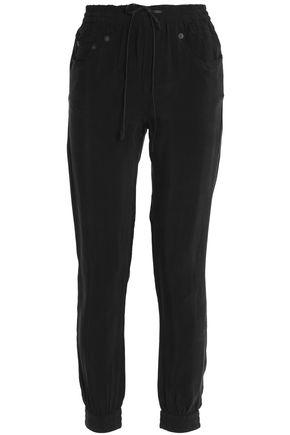 R13 Twill track pants