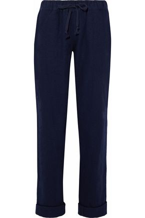 SLEEPY JONES Wool pajama pants