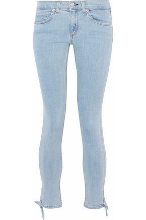 RAG & BONE/JEAN Stevie Capri cropped mid-rise skinny jeans