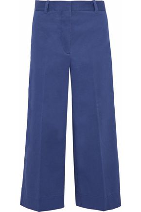 3.1 PHILLIP LIM Cropped cotton-blend twill wide-leg pants