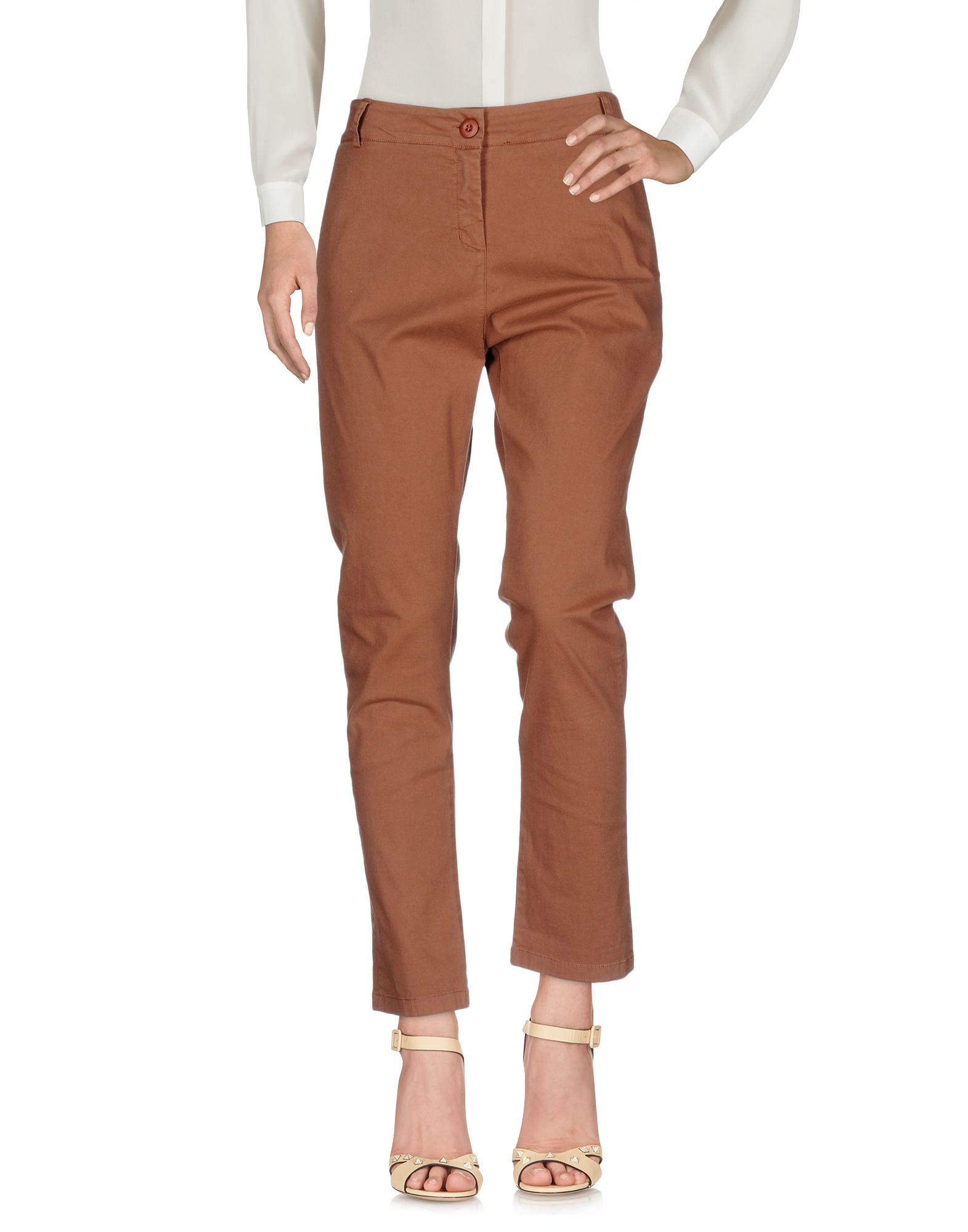 цена GUARDAROBA by ANIYE BY Повседневные брюки онлайн в 2017 году