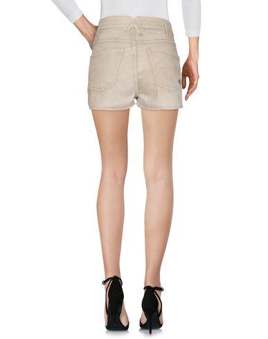 Фото 2 - Повседневные шорты светло-серого цвета