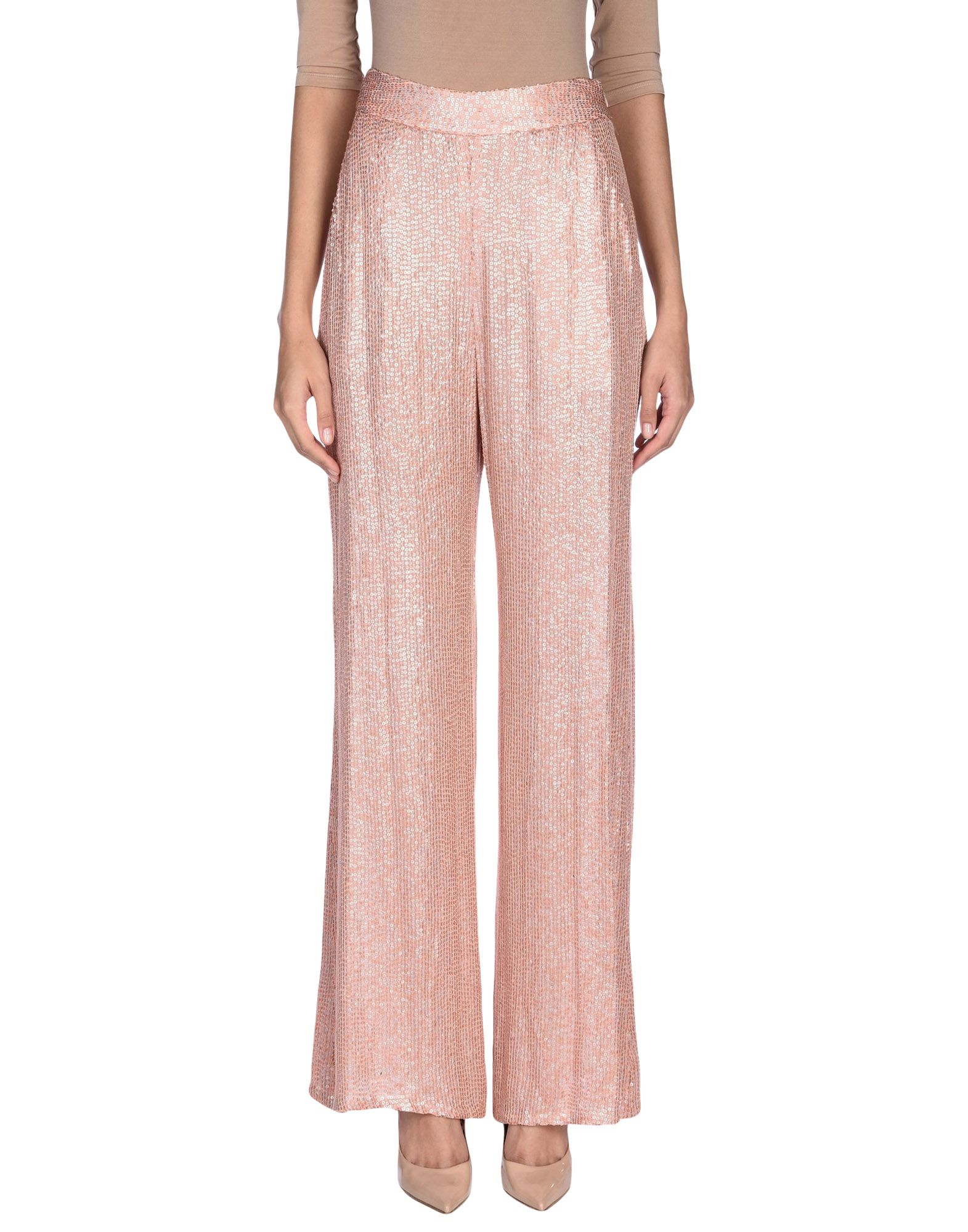ERIN FETHERSTON Casual Pants in Pale Pink