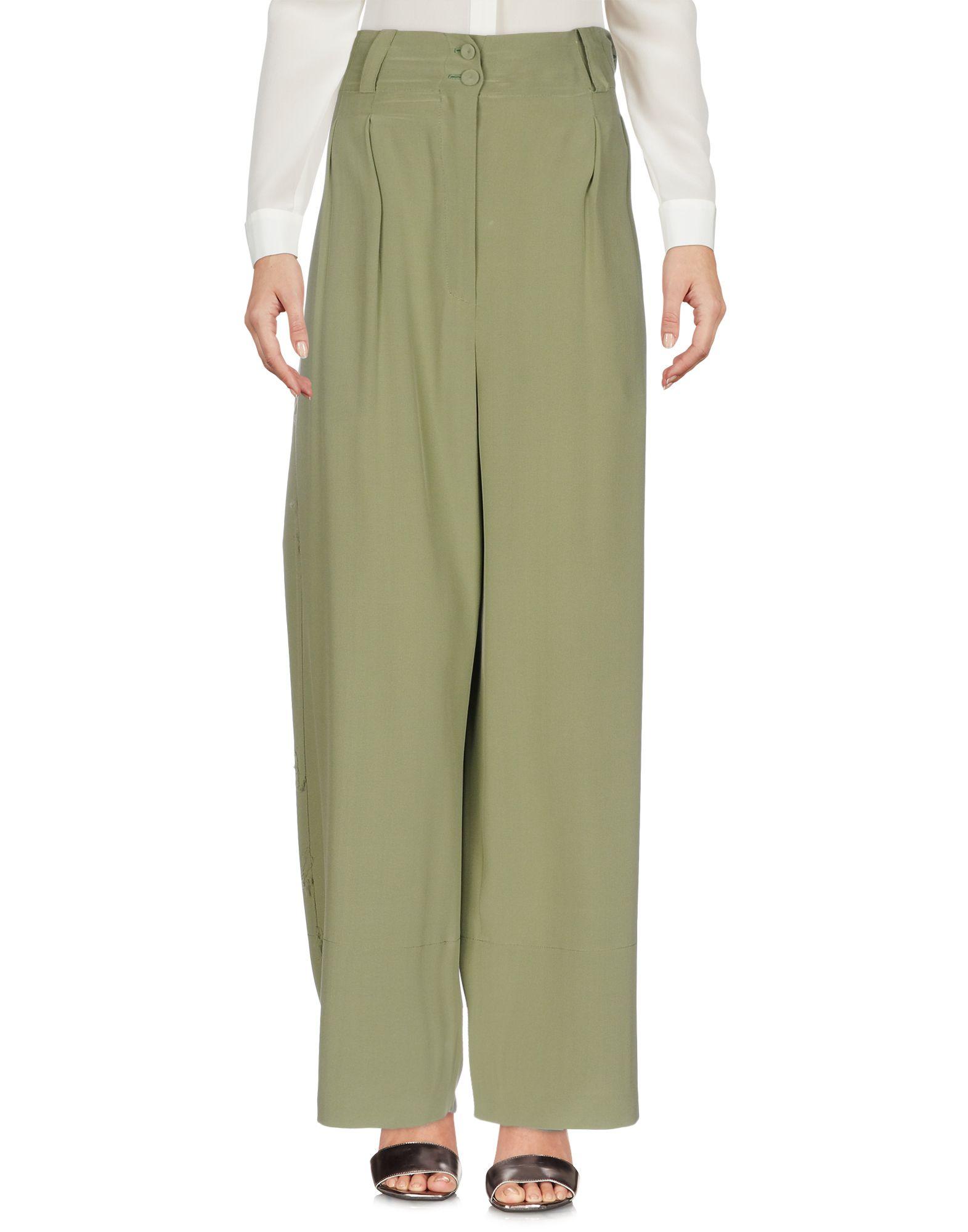 MAFALDA VON HESSEN Casual Pants in Military Green