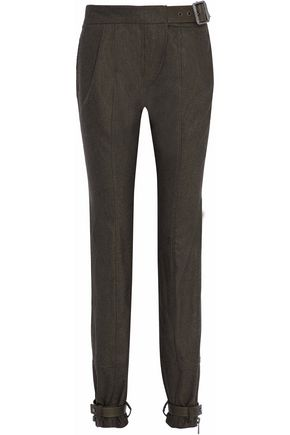 BELSTAFF Buckle-embellished wool pants