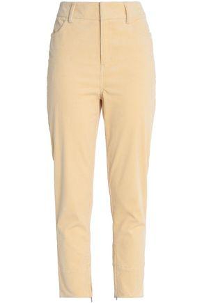 GANNI Corduroy slim-leg pants