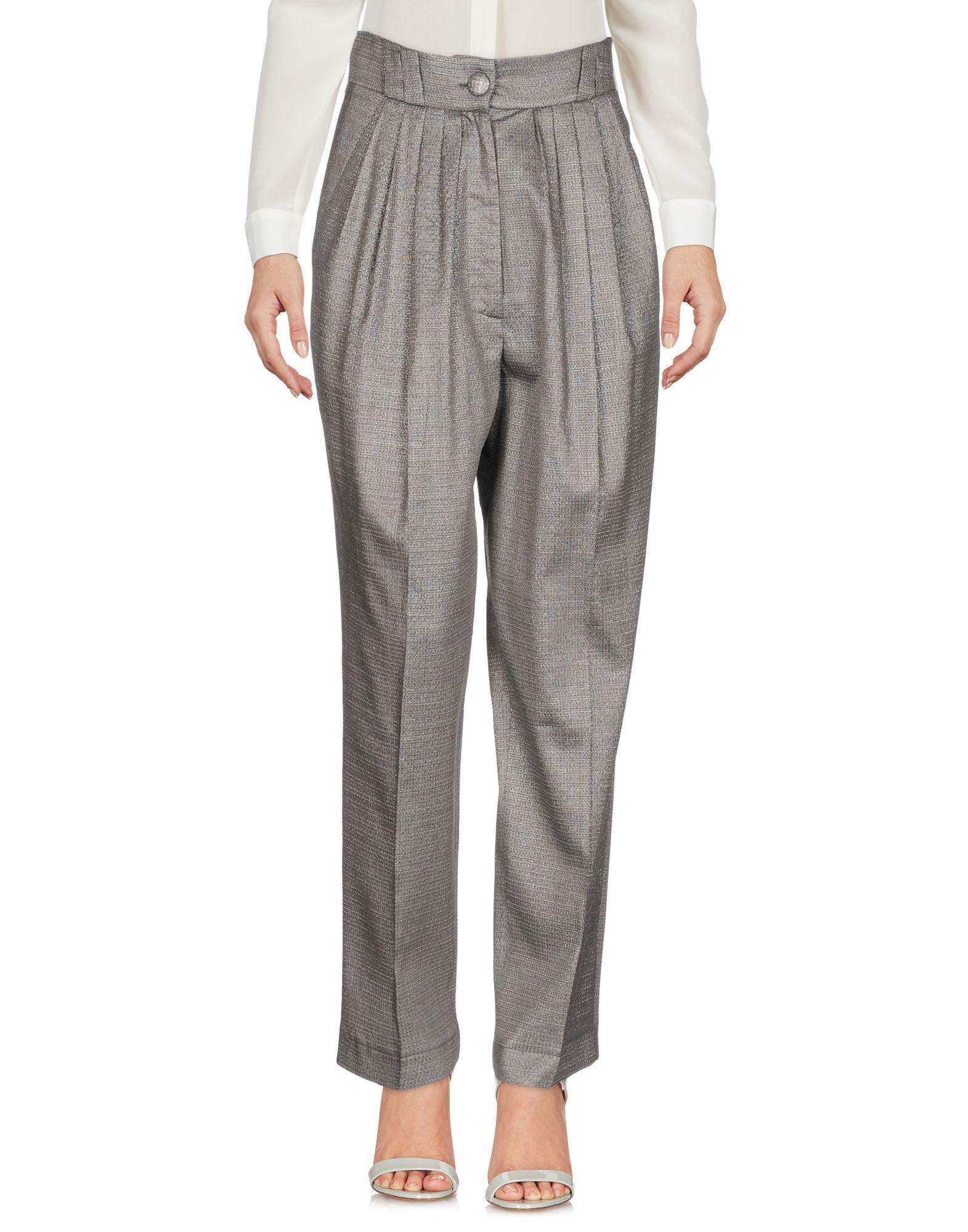 DANIELE CARLOTTA Casual Pants in Grey