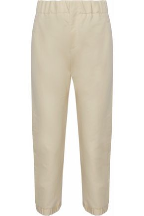 MARNI Cropped cotton-twill tapered pants