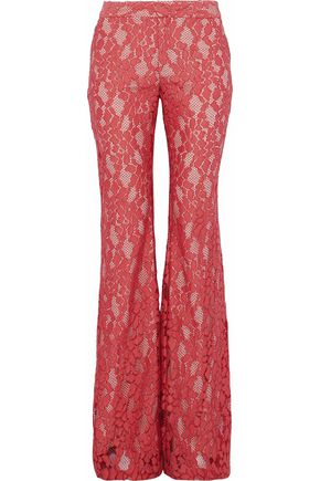 ALEXIS Lace flared pants